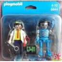 PLAYMOBIL 6844 blister duo le professeur et son robot