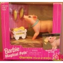 CHARLOTTE barbie magical pets friend of nibbles COCHON Pig 1997 Mattel 67603
