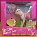 barbie MAGICAL PETS REBECCA Friend of Nibbles agneau 1997 Mattel 67603