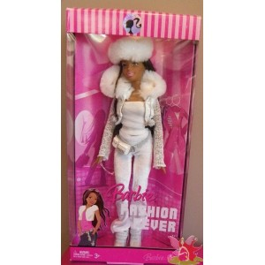 Barbie AA NIKKY Fashion Fever Snow Day 2007 Mattel L3327