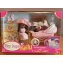 Barbie AA KELLY TINY STEPS Premiers Pas Pousette 1998 Mattel 22227