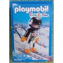 PLAYMOBIL 9288 le champion de ski