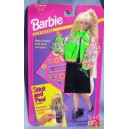 barbie STICK AND PEEL FASHIONS tenue jupe et veste chaussures 1994 Mattel 11938