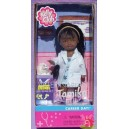 TAMIKA AA VETERINARIAN Career day vétérinaire et lapin Barbie Club Kelly 2001 Mattel 52757