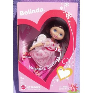BELINDA ANGE barbie club kelly VALENTINE DARLINGS saint valentin 2003 Mattel B6473