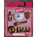 barbie COOKWARE cuisine ustensils SPECIAL COLLECTION accessoires 1997 Mattel 18435 assortiment 18434