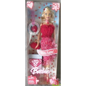 barbie WITH LOVE saint valentin 2005 Mattel H8254