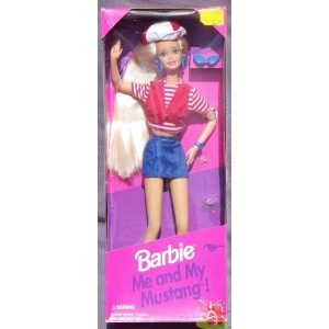 barbie ME AND MY MUSTANG 1994 Mattel 13744