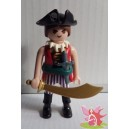 PLAYMOBIL 70160 la pirate n°10 série 16