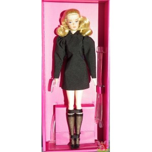 Barbie BEST IN BLACK DOLL porcelaine silkstone Robert Best 2019 Mattel GHT43