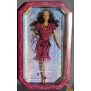 Barbie AA BIRTHSTONE BEAUTIES MISS GARNET JANUARY grenat janvier Birthday anniversaire 2007 Mattel L7572