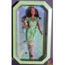 Barbie AA BIRTHSTONE BEAUTIES MISS PERIDOT AUGUST Aout Birthday anniversaire 2007 Mattel L7580