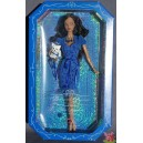Barbie AA BIRTHSTONE BEAUTIES MISS SAPPHIRE SEPTEMBRE Birthday anniversaire 2007 Mattel L7581