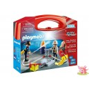 PLAYMOBIL 5651 valise portable pompiers