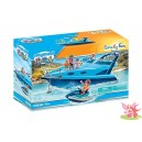 PLAYMOBIL 70630 le Yacht + scooter des mers