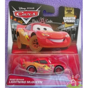 ROAD REPAIR LIGHTNING McQUEEN - cars radiator springs