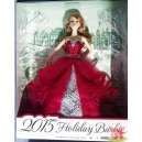 Barbie Kmart exclusive HAPPY HOLIDAY Joyeux Noël Linda Kyaw 2015 Mattel CHT00