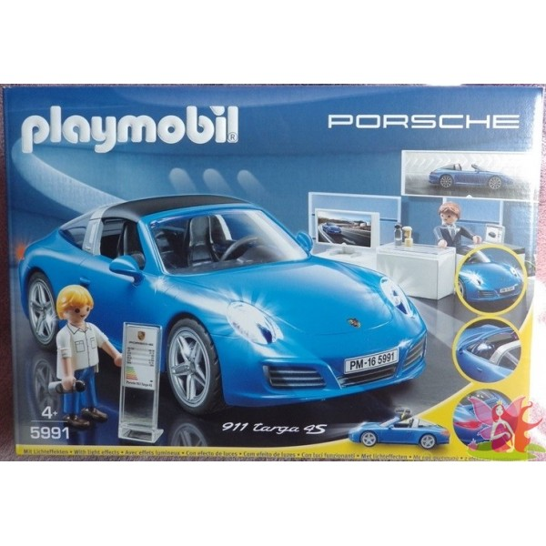 playmobil 5991 porsche 911 targa 4s les jouets de sophie. Black Bedroom Furniture Sets. Home Design Ideas