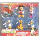 MICKEY MOUSE ClubHouse playset JC Penney DISNEY lot de 6 figurines